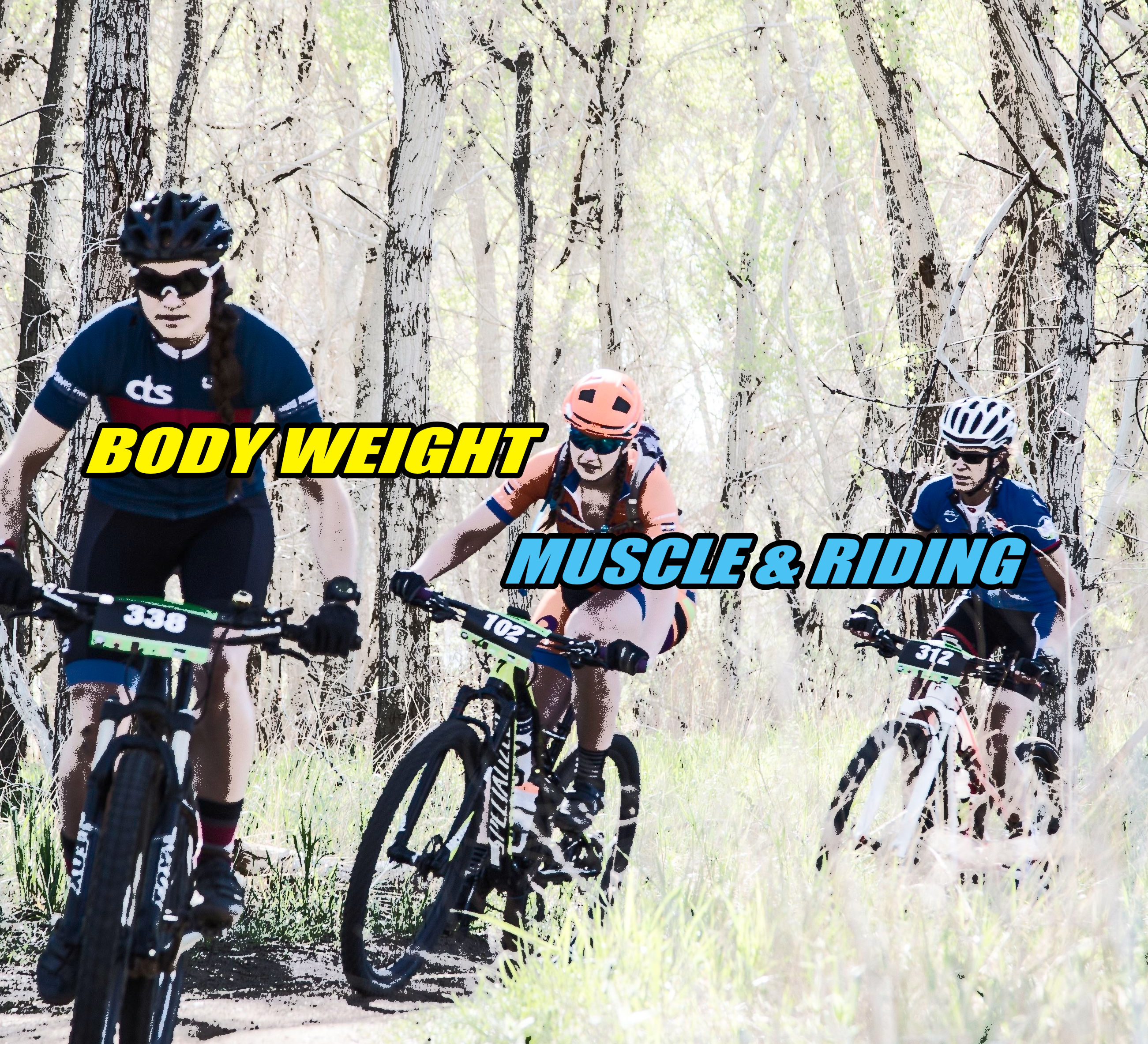 mtb body weight muscle riding momentum is your friend