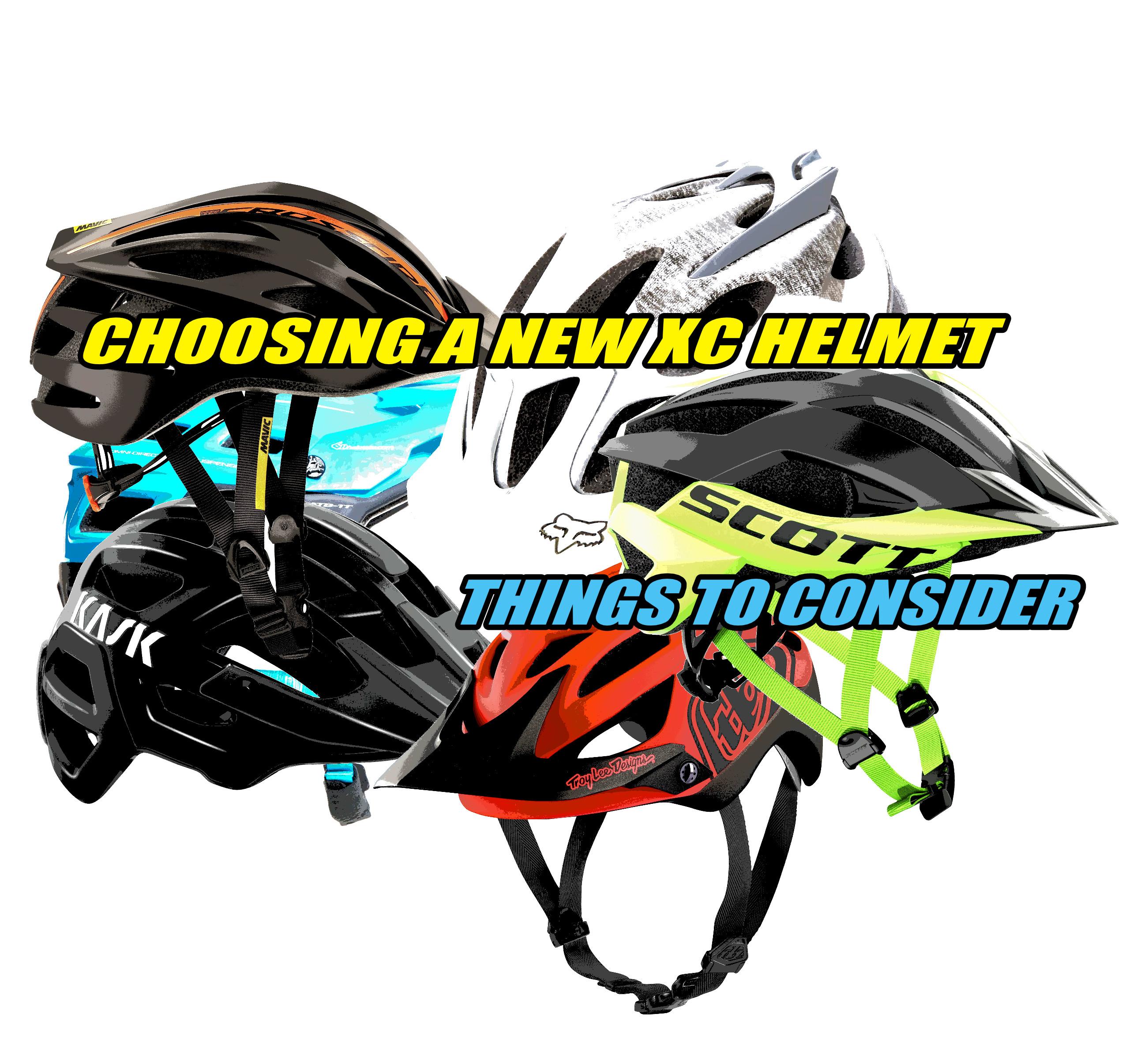 MTB xc new helmet