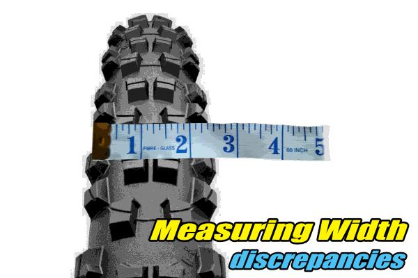 mtb tyres width