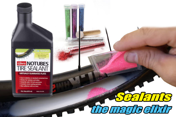 tubeless sealant momentum is your friend