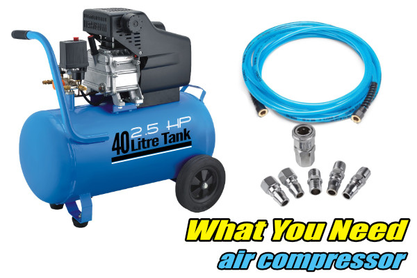 air compressor momentum is your friend