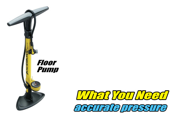 floor pump momentum is your friend