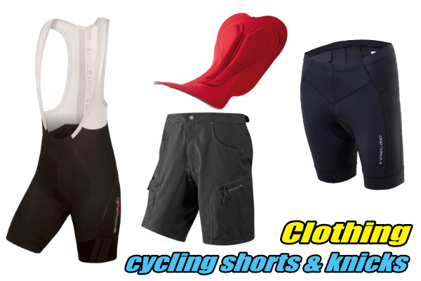 mtb cycling knicks shorts chamois