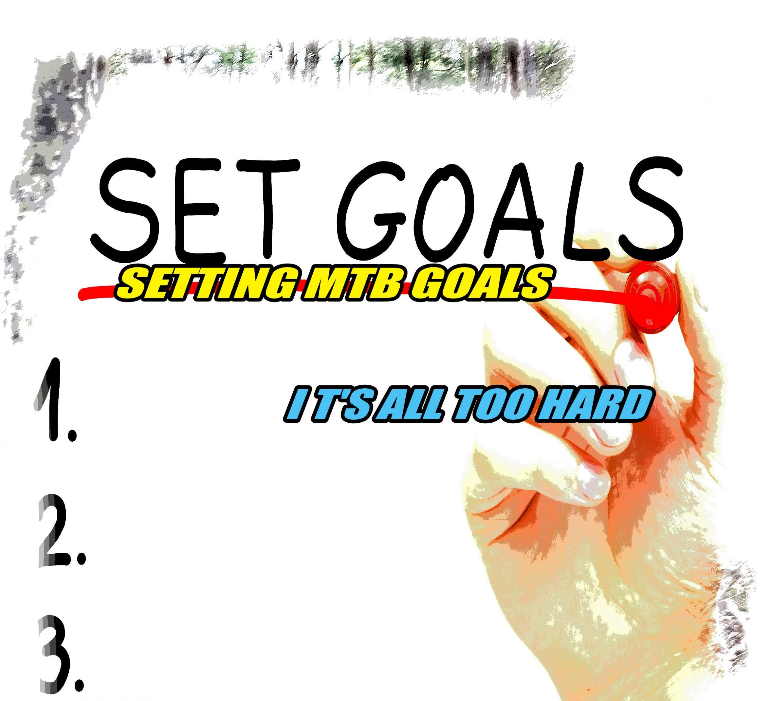 setting mtb goals