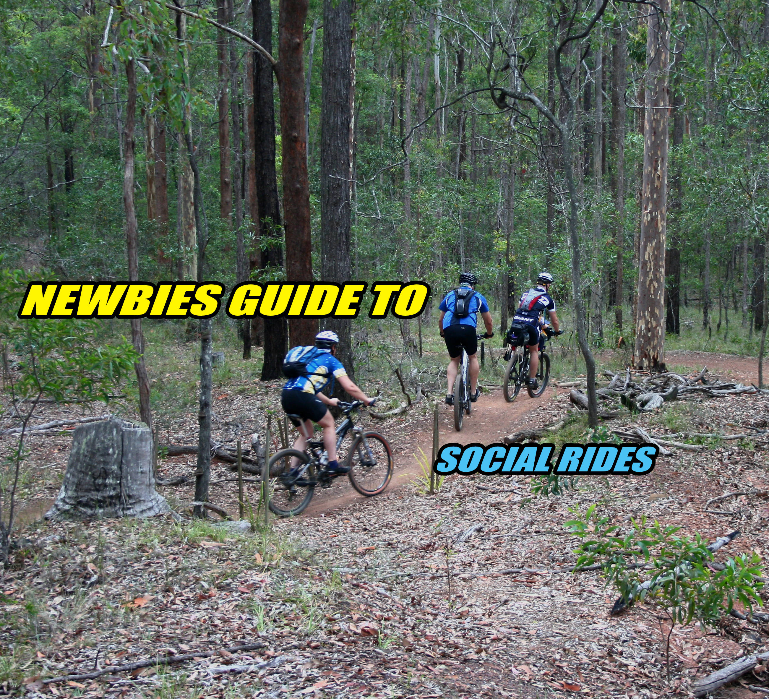 Newbies guide to social rides momentum is your friend