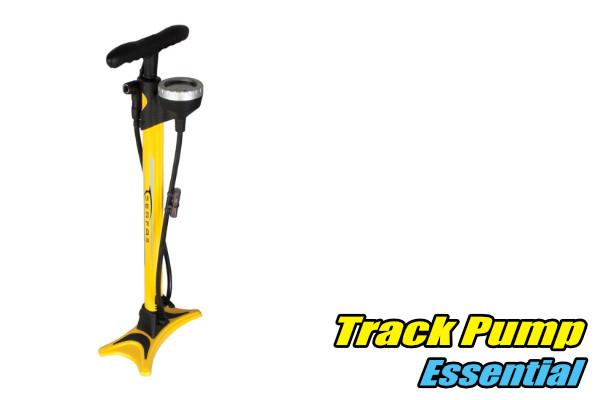 track floor pump