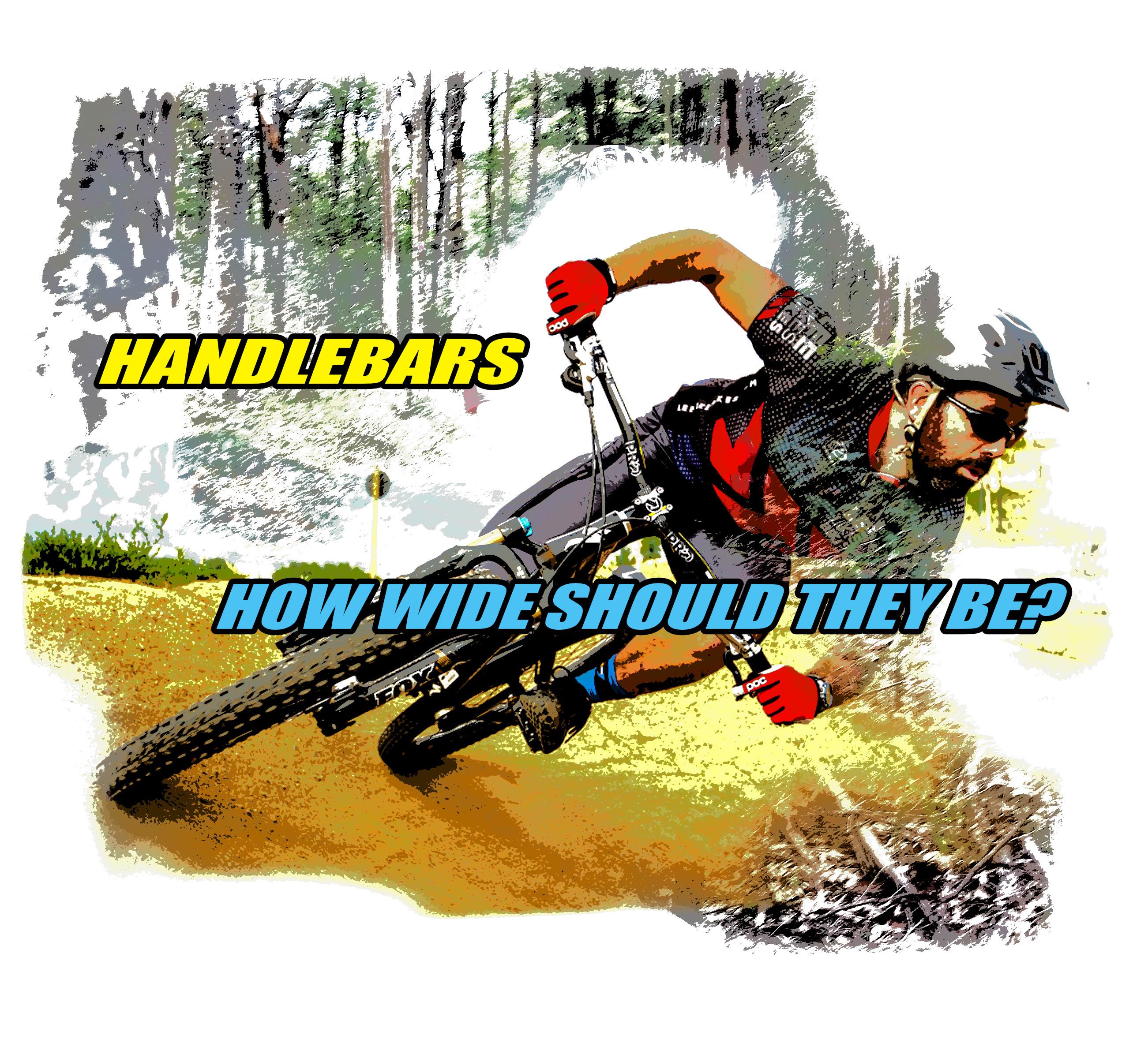 mtb handlebars momentum is your friend