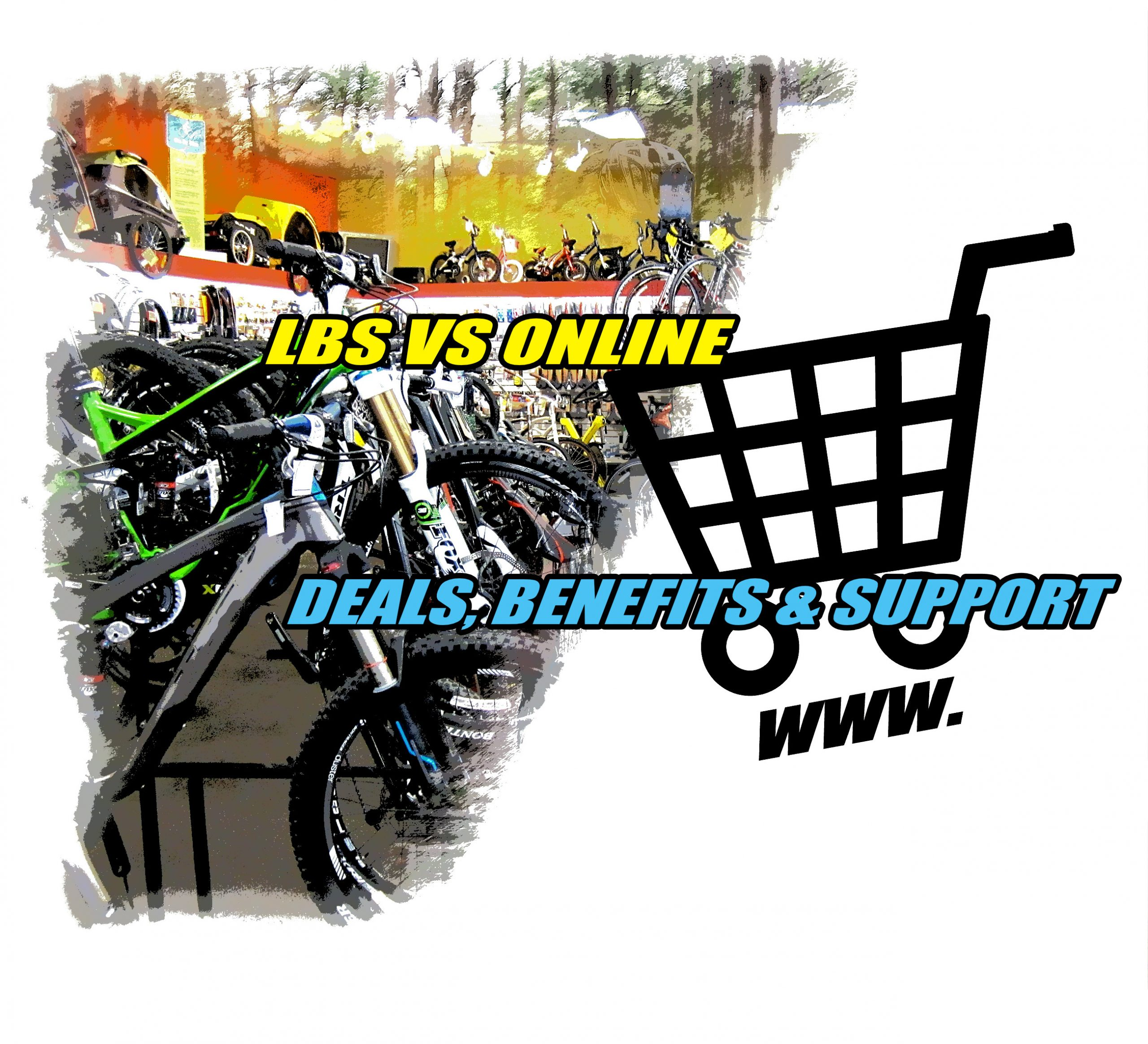 LBS local bike shop versus online