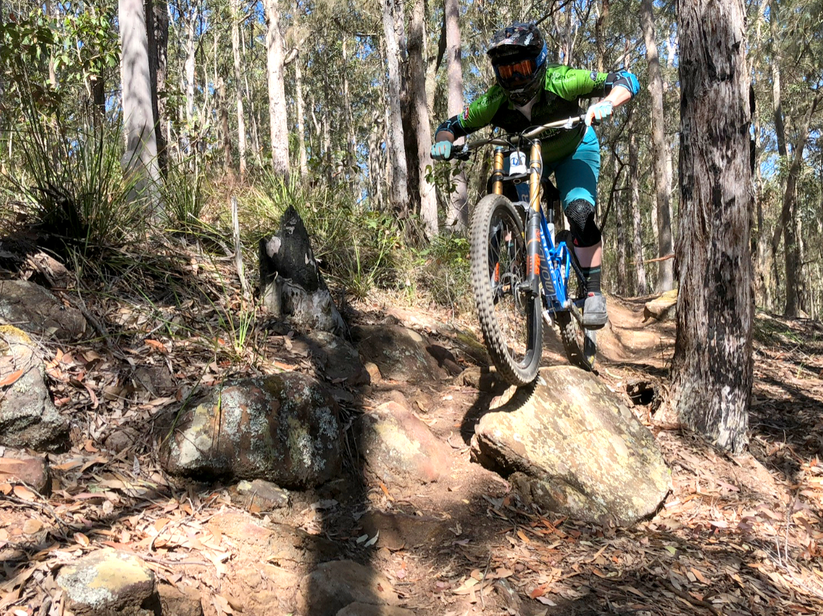gravity enduro coaching skills miyf momentum is your friend